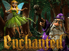 Запусти спин в автомате Enchanted с мобильного